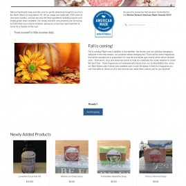 Web Design – East End Soap Company