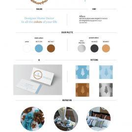 Blue Willow Home Decor Branding