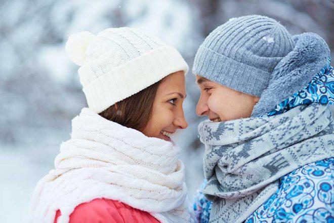 Winter Wedding Invite Before
